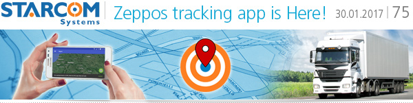 Zeppos - The new tracking App