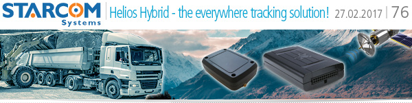 Helios Hybrid - the Everywhere tracking and monitoring solution