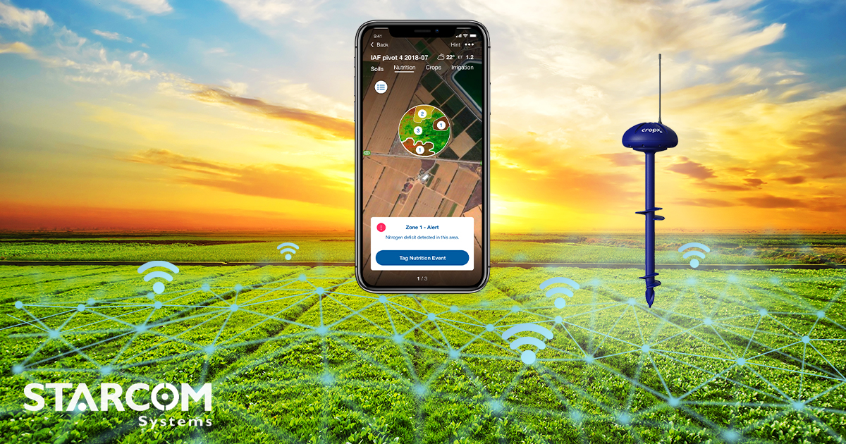 IoT of Agtech, Cropx tracks conditions for higher yields with lower wastage and costs