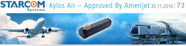 Kylos Air – approved by Amerijet